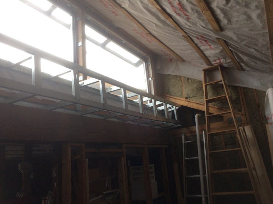 Finished Family Room Soffit