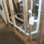 Pipe to crawlspace