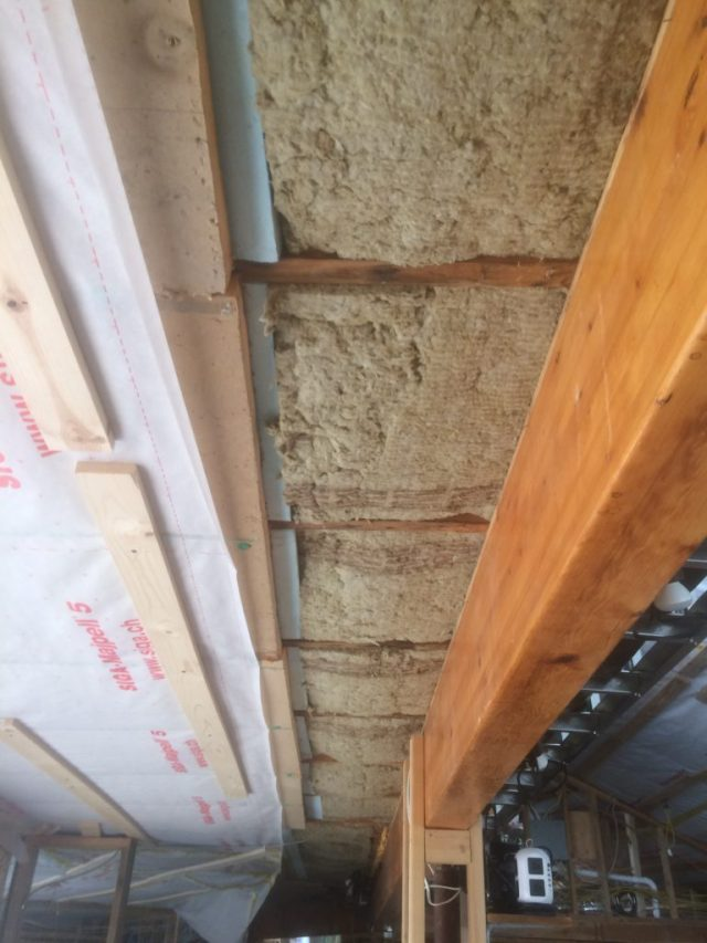 Insulation in Wiring Chase