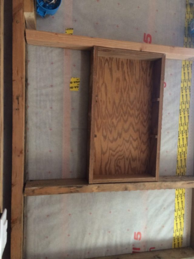 Space for medicine chest