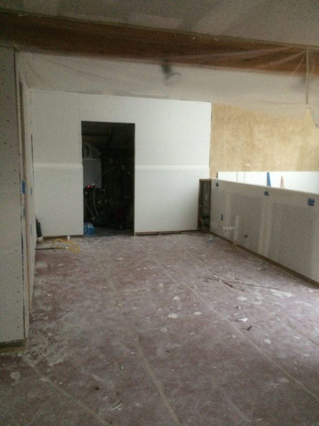 Kitchen with Utility Room Door