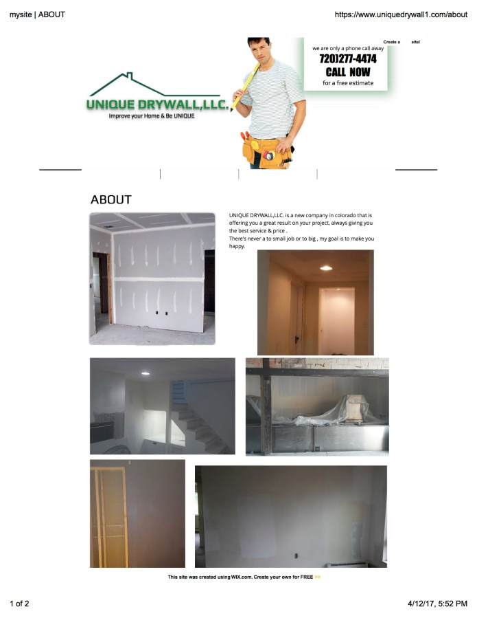 Unique Drywall About