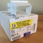 Arlington electric box extenders