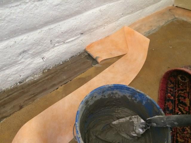 Edge treatment for tile