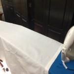 Ironing cotton!