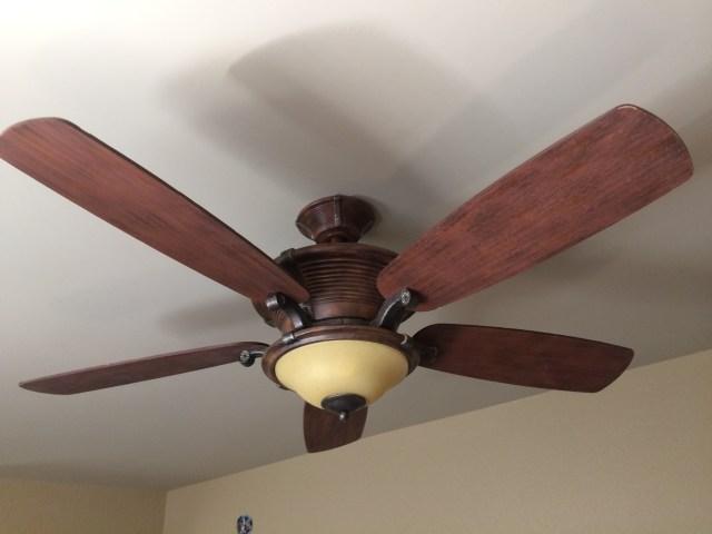 Fan in Master Bedroom