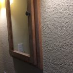 New cabinet installed flush