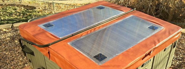Aztech Solar Hot Tub Cover