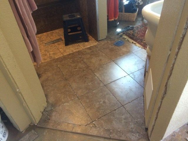 Tile Mortared