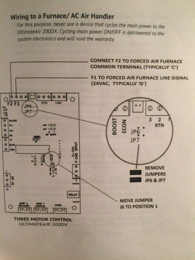 Printed manual jumper setting