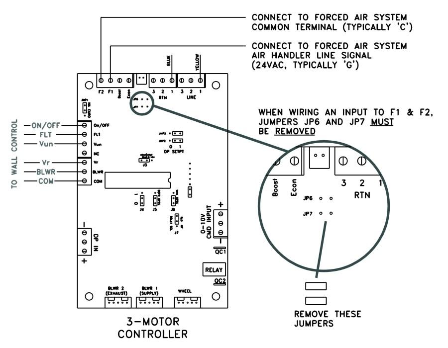 Furnace Air Handler to ERV Wiring