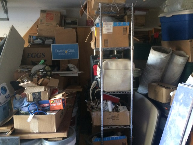 Too many boxes and tools