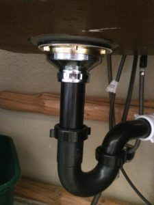 New drain plumbing