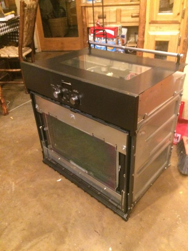 Ikea oven ready for disposal