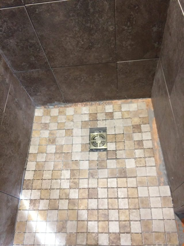 All mosaic floor