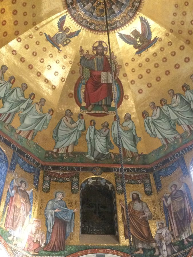 Amazing mosaics at the cathedral