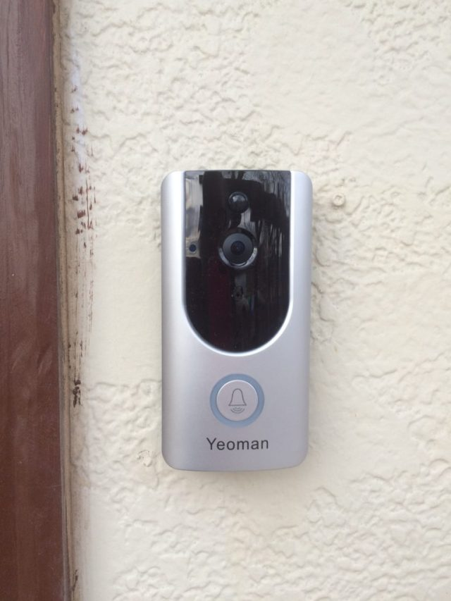 Yeoman video doorbell