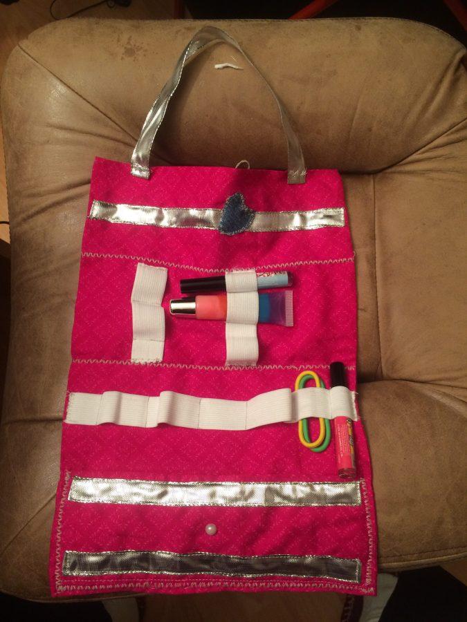 Sleepover cosmetic bag