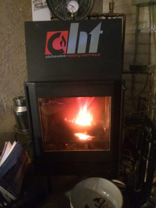 Boiler Fireplace for Ambiance and Heat