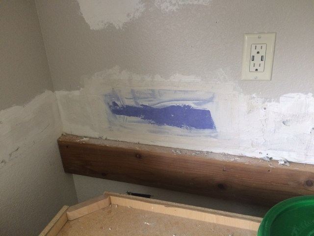 Drywall patch to repair broken board