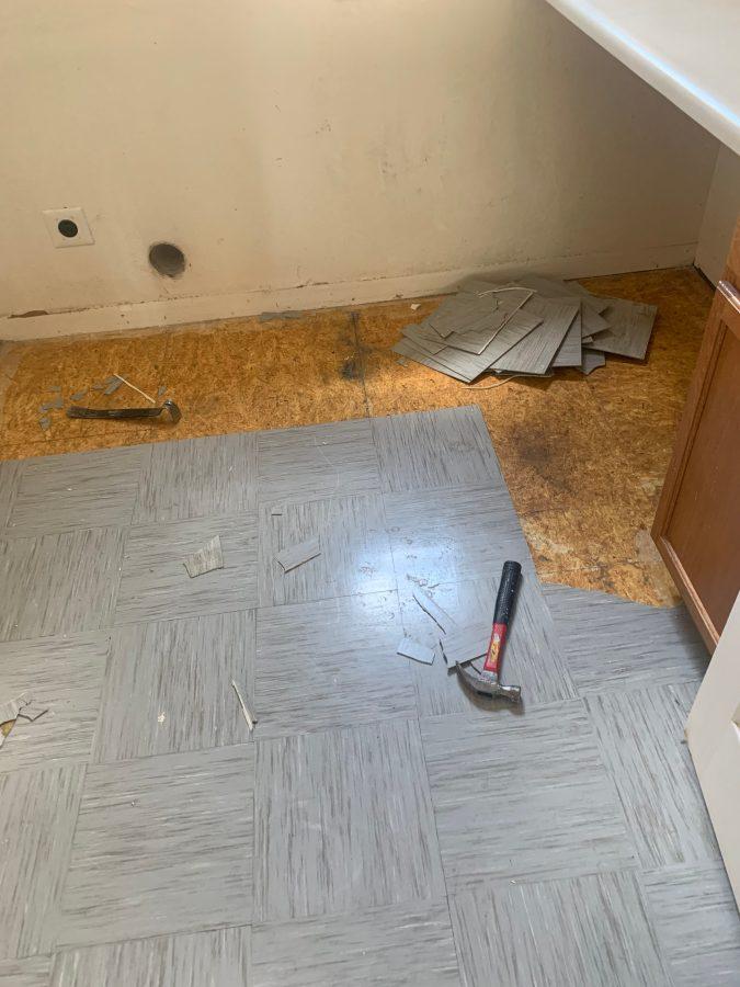 Mud room tile
