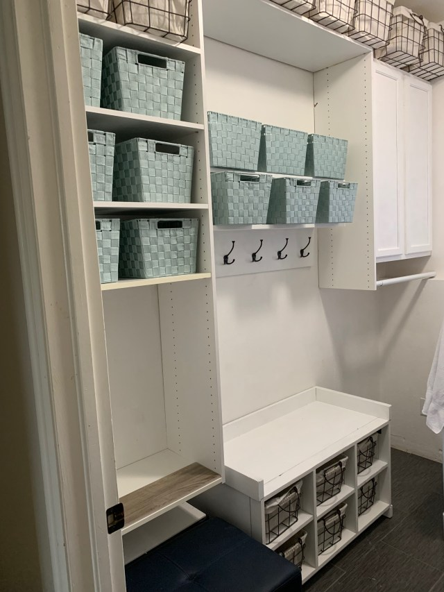 Mud room setup