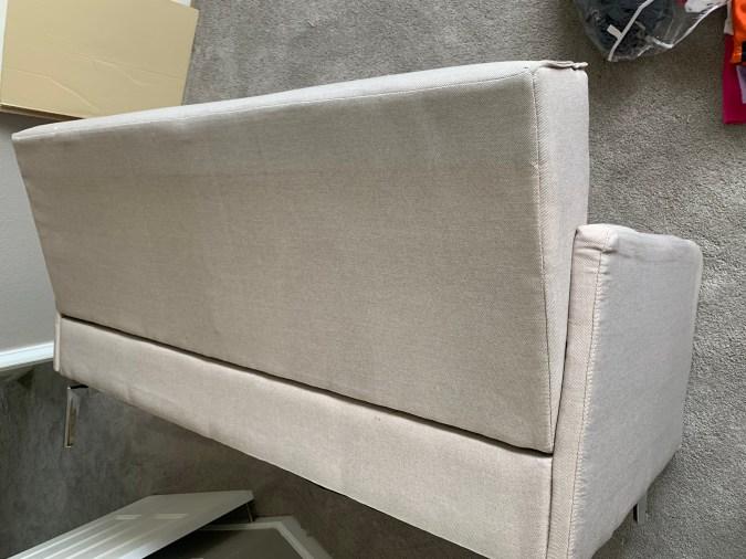 Original beige upholstery