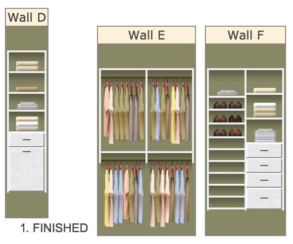 Easy Closet layout