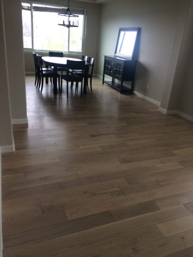 Beautiful new floor