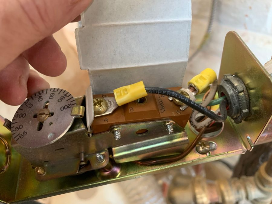 Aquastat wiring