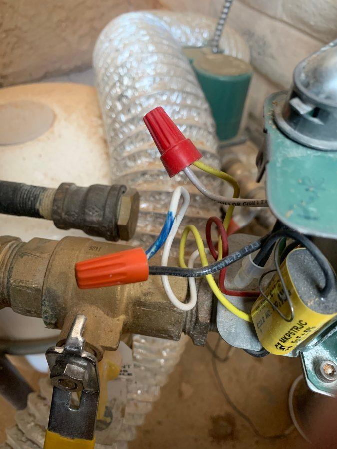 Main pump wiring