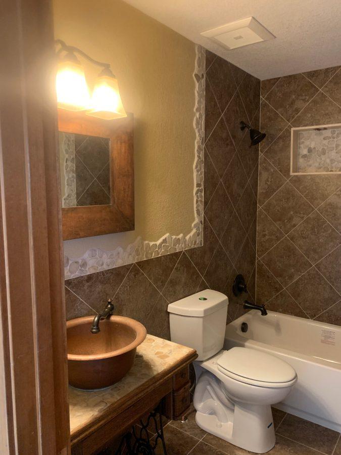 Bathroom assembled