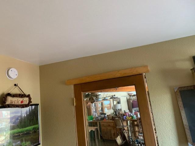 Inner door log trim