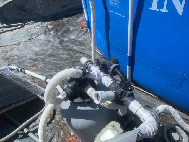 Bypass valves for solar panel
