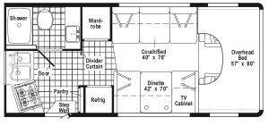 2003 Itasca Floorplan