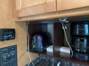 Wiring for 12 volt/USB outlet
