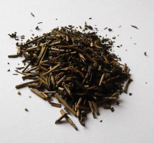Hoji Cha tea looks like little sticks.