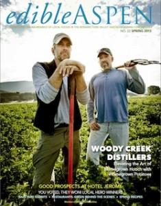 Edible Aspen Spring Issue - honoring local heros