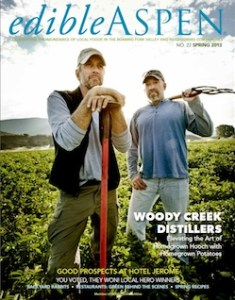 Edible Aspen Spring Issue - honoring local heros