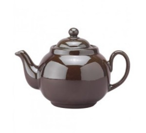 The most traditional teapot of all time ... but she sure looks lonely without some Brown Butter Pecan Shortbread.