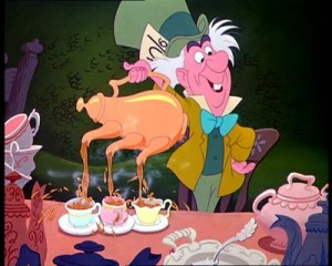 We resolve to be this efficient while pouring tea during National Hot Tea Month.
