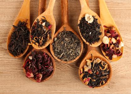 Add a dash, a pinch, or a smidgen of tea!