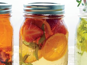 Infuse some fruit with your tea while you're at it!
