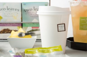 Two Leaves tea to-go