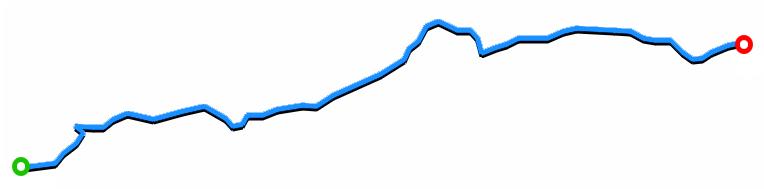 Land : différence visible entre le point de départ et le point d'arrivée