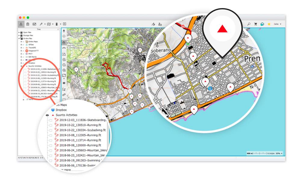 Conexión con los relojes Suunto para monitorizar tus actividades en LAND