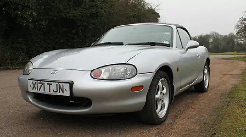Mazda MX5 mk2 - (C) Motoring Research
