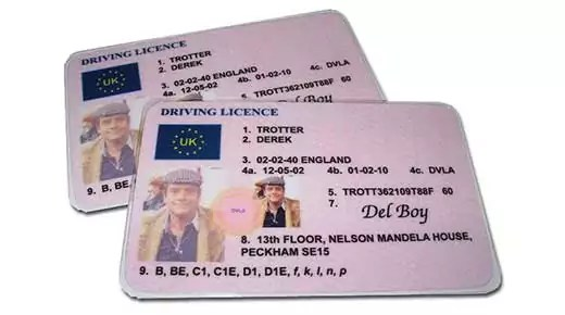 Driving licence (c) Brizzle Born n bred