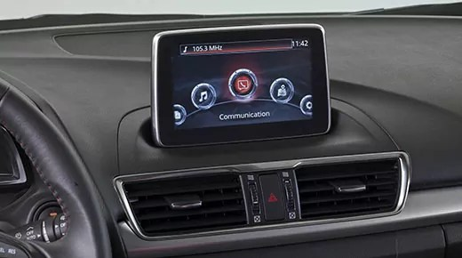 Mazda MZD Connect in-car connectivity infotainment system (c) Mazda