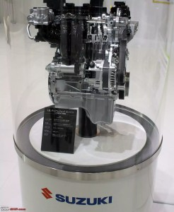 Suzuki Swift Dualjet engine